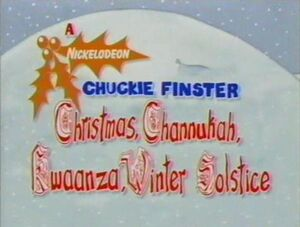A Chuckie Finster Christmas