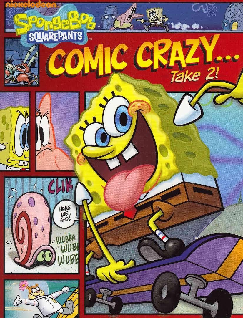 comic crazy take 2 encyclopedia spongebobia fandom powered by