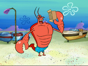 Larry the Lobster in Pet or Pests-16