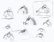 Stephen-Hillenburg-sketches-SpongeBob-Mrs-Puff