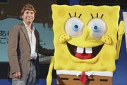 Stephen and SpongeBob