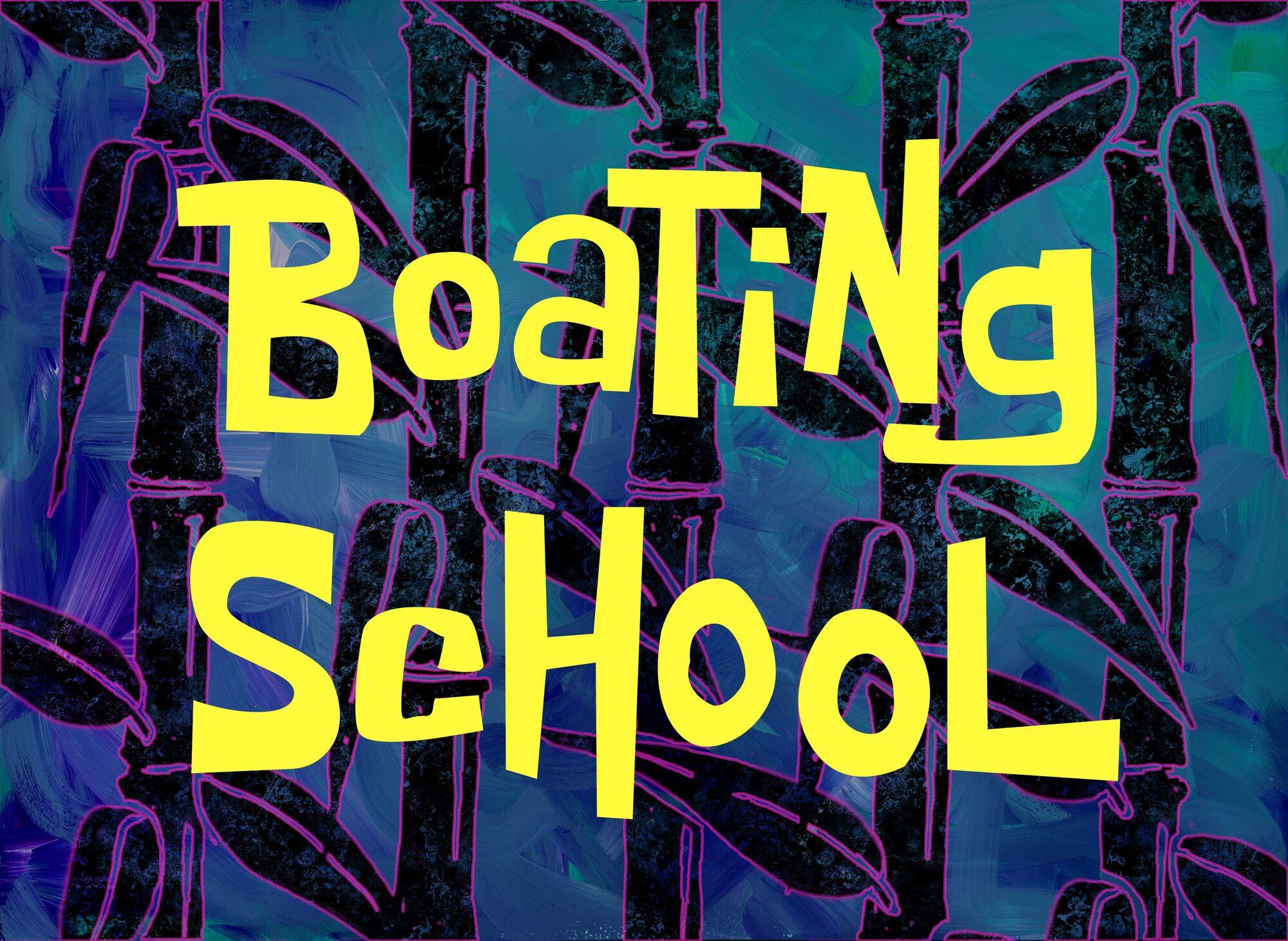 Boating School | Encyclopedia SpongeBobia | FANDOM powered