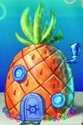 SpongeBob's pineapple house in The SpongeBob SquarePants Movie