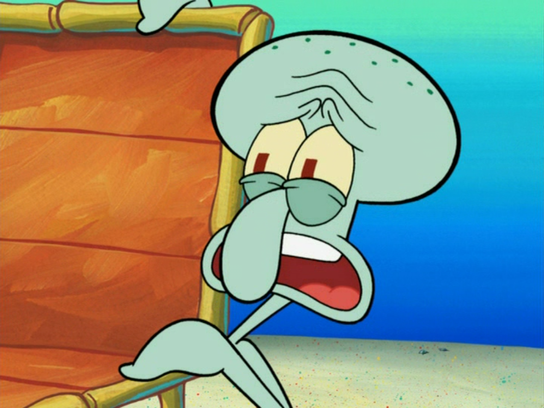 Image - Squidward Tentacles in Sun Bleached-7.png ...
