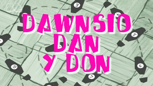 File:Slimy Dancing Title Card Welsh.png