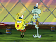 Squidward Is Annoyed