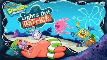 SpongeBob SquarePants Lights Out Patrick