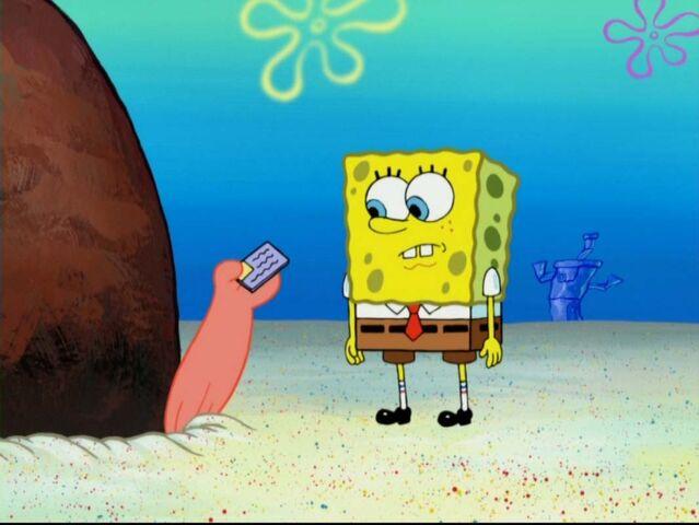 File:Spongebob yours mine mine transcript.jpg