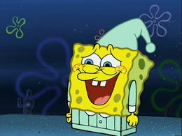 SpongeBob's missing legs in Night Light