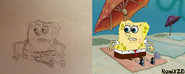 SpongeBob at the Beach Comparison