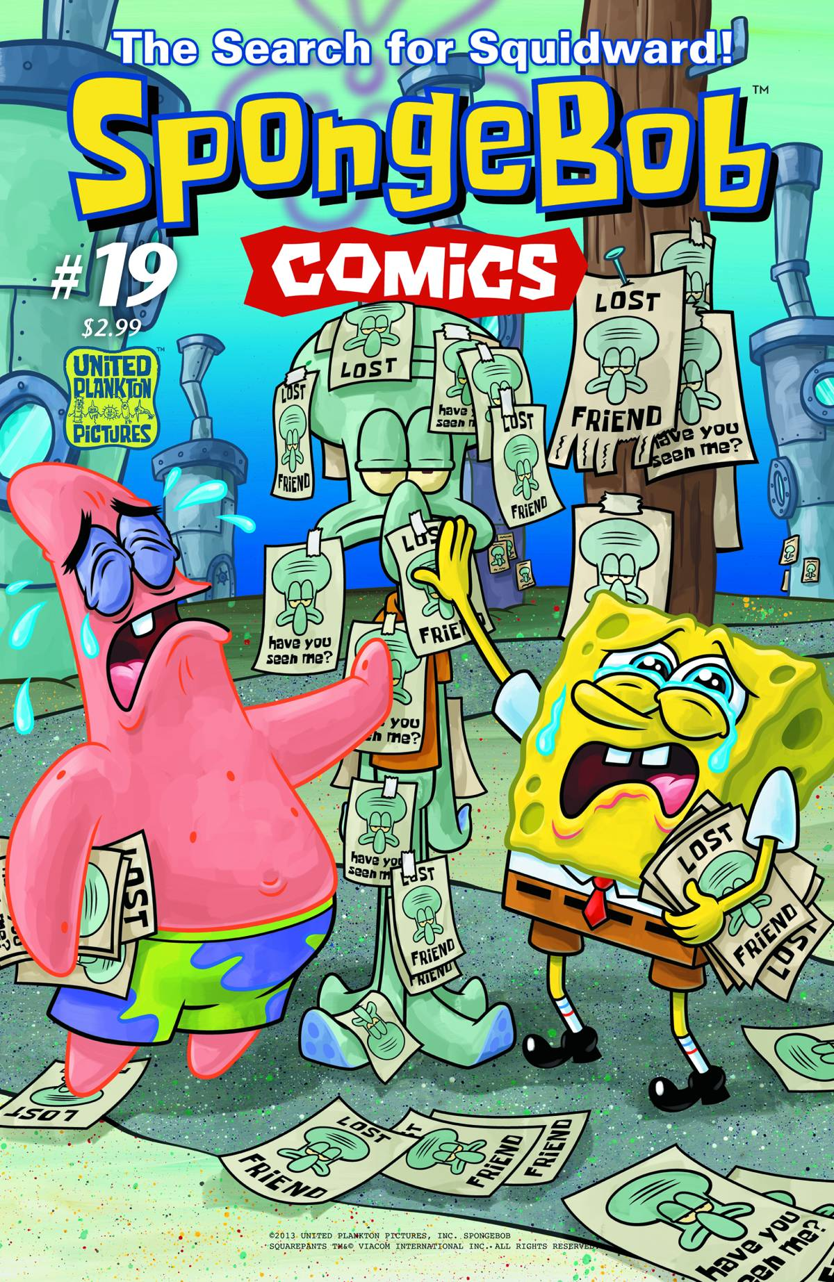 spongebob comics no 19 encyclopedia spongebobia fandom
