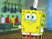 SpongeBob with glasses in You Don't Know Sponge
