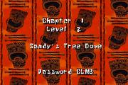 SuperSponge GBA Sandy's Tree Dome intro 2