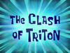 The Clash of Triton title card