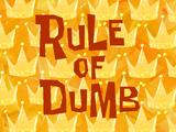 Rule of Dumb title card