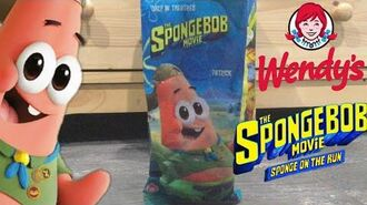 The SpongeBob Movie Sponge On The Run Wendy's Patrick Toy Review & Unboxing