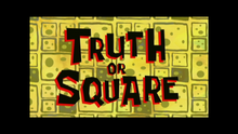 Windowbox Truth or Square Title Card