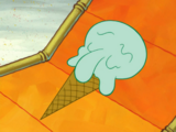 Squidward the Ice Cream Cone