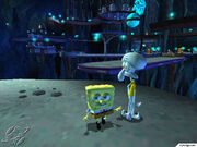 3D Spongebob & 3D Squidward