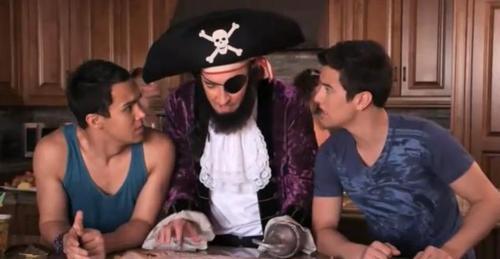 Bikini pirate actors