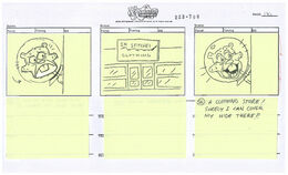 Someone's in the Kitchen with Sandy storyboard-140