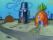 SpongeBob's Missing Window