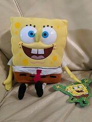 Spongebob-Plush-w-Removable-Pants-RARE-from-2000
