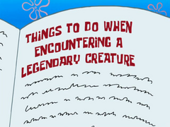 Things to Do When Encountering a Legendary Creature - Titlecard