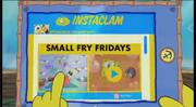 SpongeBob Checks His Instaclam 12