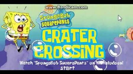 SpongeBob SquarePants - Crater Crossing