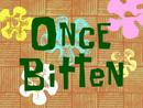 Once Bitten title card
