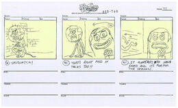 Someone's in the Kitchen with Sandy storyboard-151