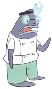 Purple Docterfish stock art