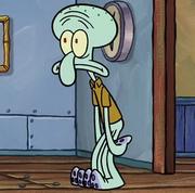 Squidward in Spongebob's Bad Habit