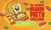 The Ultimate Krabby Patty Challenge - Loading screen