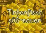 158a. Tintenfisch süß-sauer