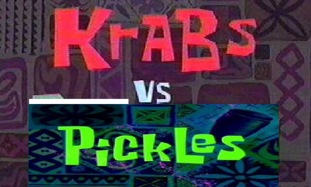 File:Krabs Vs. Pickles lol.png