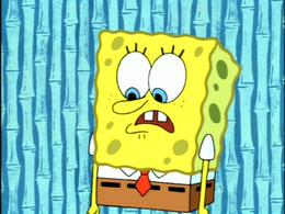 SpongeBob's missing legs in Bummer Vacation