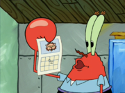 Calendar in The Krusty Sponge