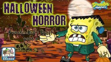 Frankenbob's Quest - Half Zombie, Half Robot, Half Vampire Plankton (Nickelodeon Games)