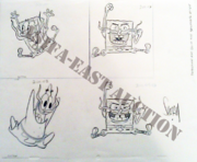 2011 ASIFA-East Auction SpongeBob production art2