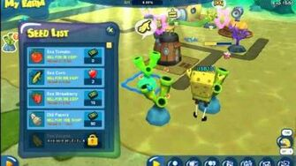 SpongeBob Town's 1st Closed Beta Test PlayThrough Part 3 A Little More Farm Tending!