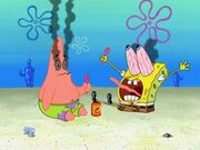 SpongeBob and Patrick Bubbles
