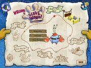 Glove World mini game map