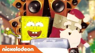 "It's A SpongeBob Christmas ""Don't Be a Jerk It's Christmas"" Karaoke Music Video Nick"