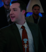 Man in Squidward Tie from Daddy's Home