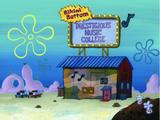 Bikini Bottom Prestigious Music College