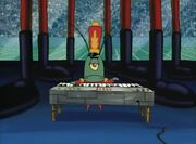 Plankton playing the piano S02E15b