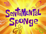 Sentimental Sponge title card