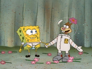 SpongebobSandyembrace